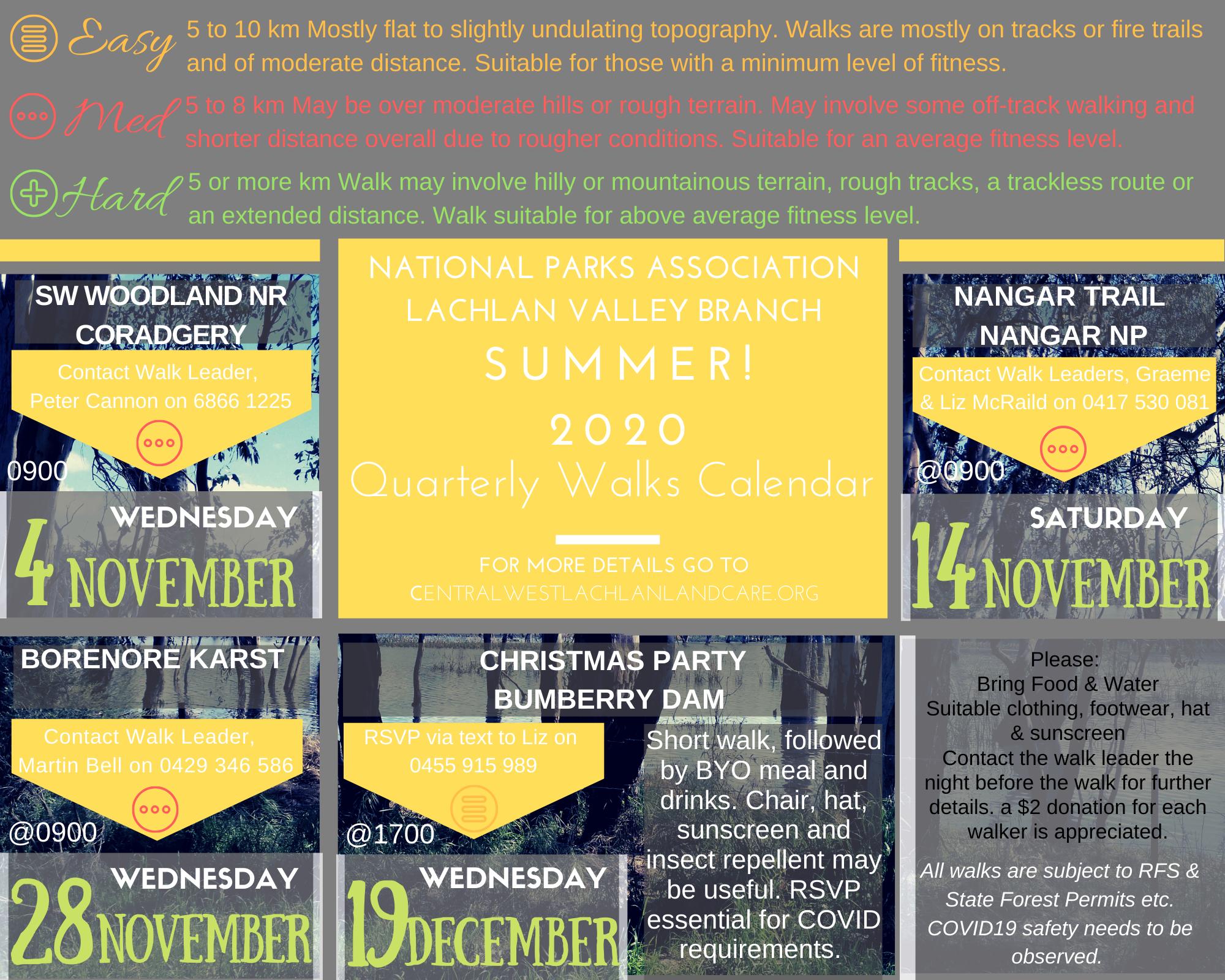 NPA Summer Walks 2020