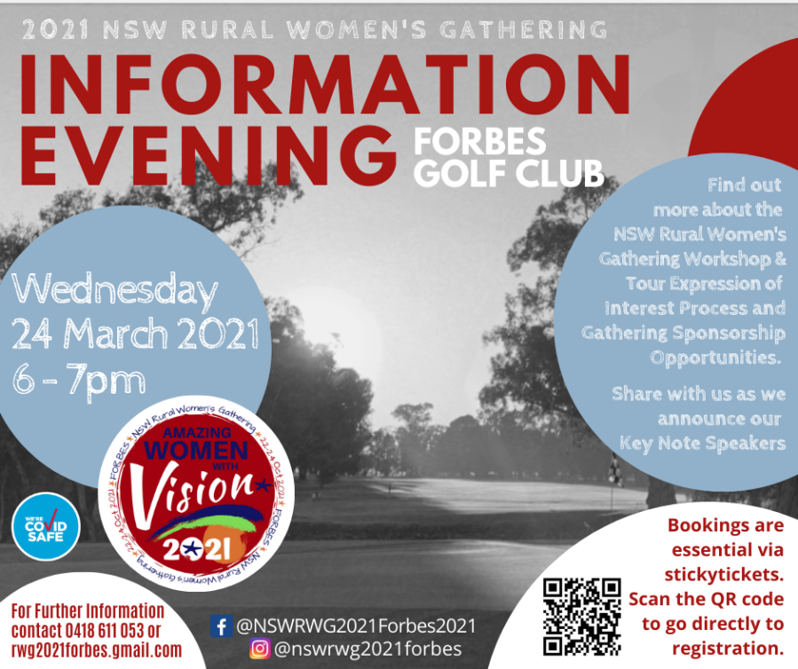 2021 RWG Information Evening