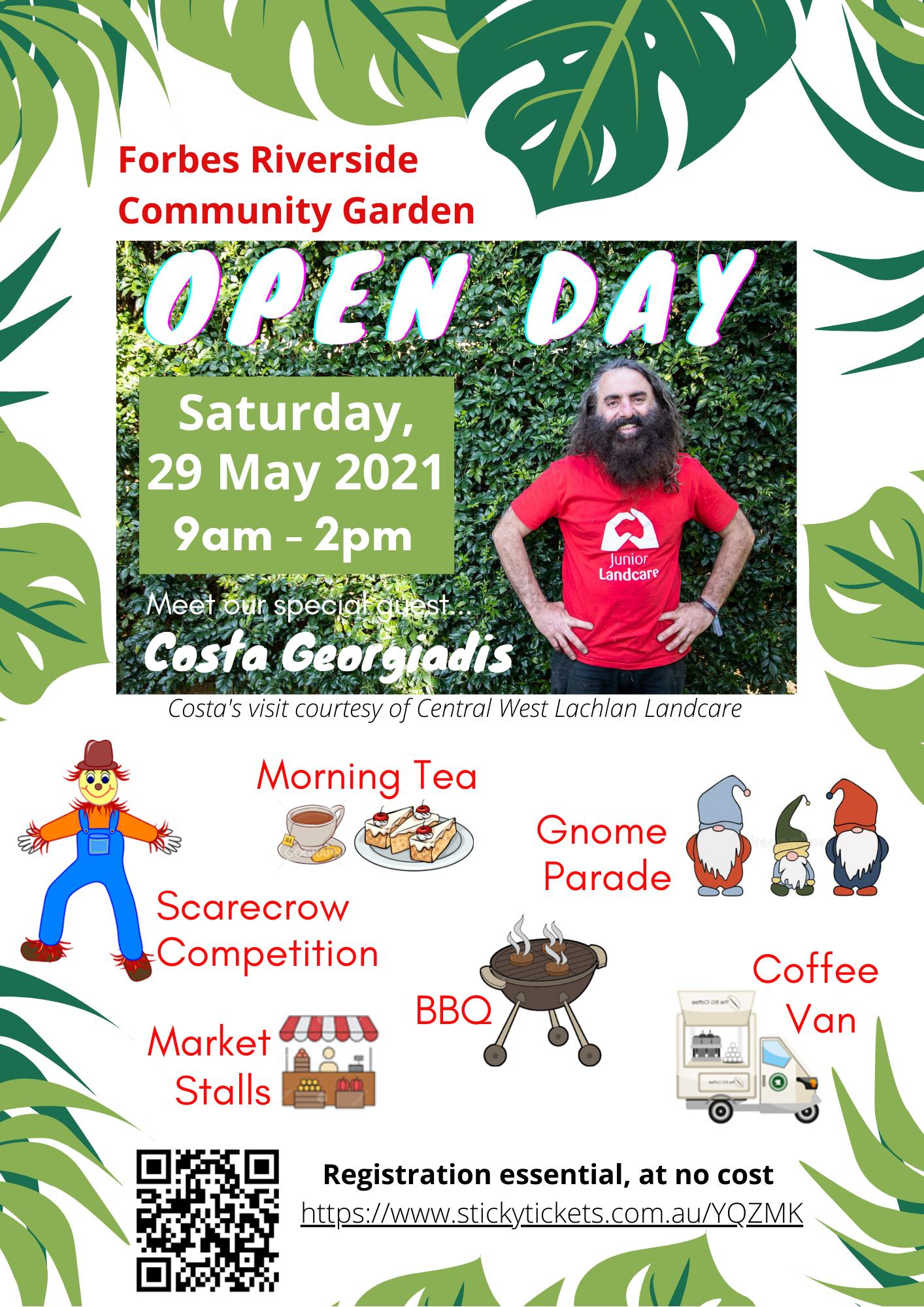 Forbes Riverside Community Garden Open Day (29-5-2021)