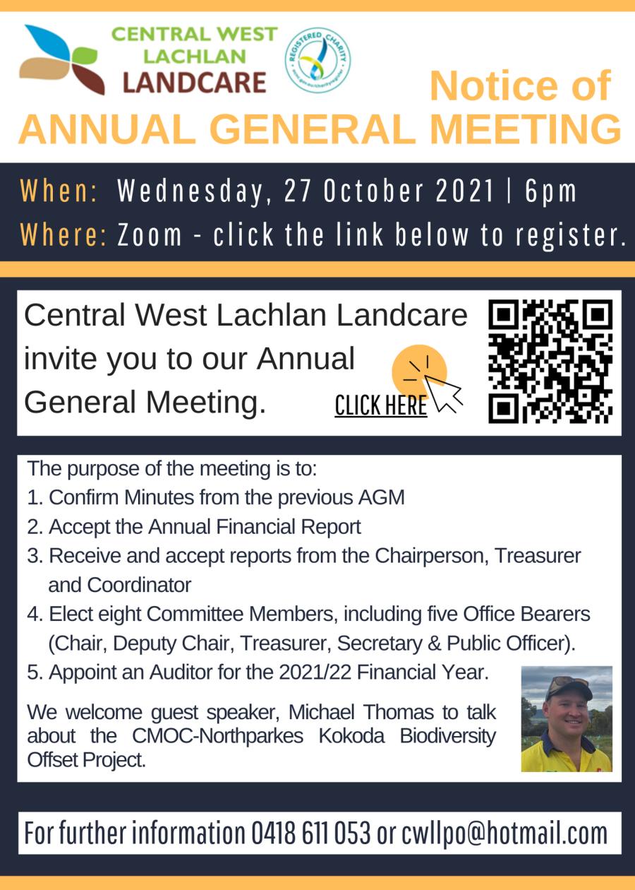 CWLL AGM Notice 27-10-2021